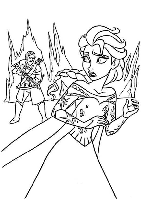 bilder 2 eiskönigin anna zum ausmalen